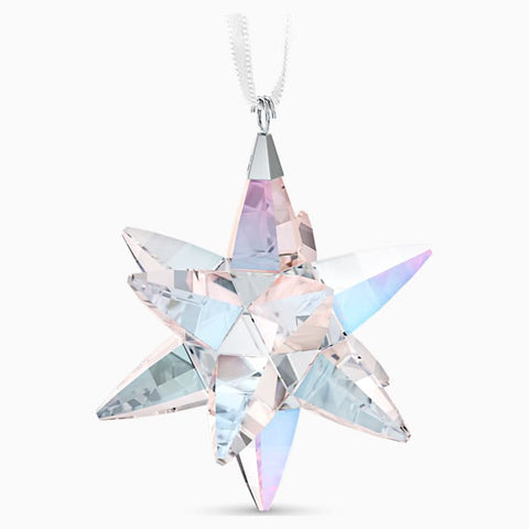 Swarovski Shimmer Star Ornament - Medium