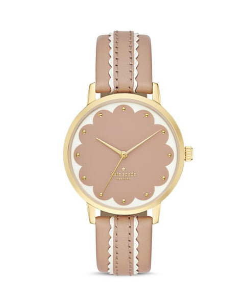 Kate Space Scalloped Dial Metro Watch