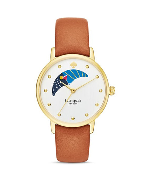 Moon Phase Metro Watch