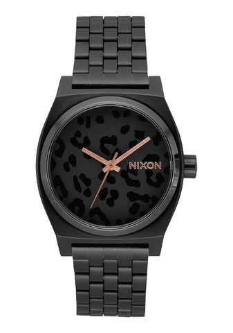 Nixon Time Teller - All Black / Cheetah