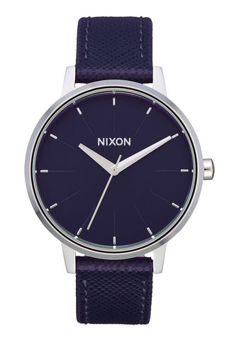 Nixon Kensington Leather - Aubergine