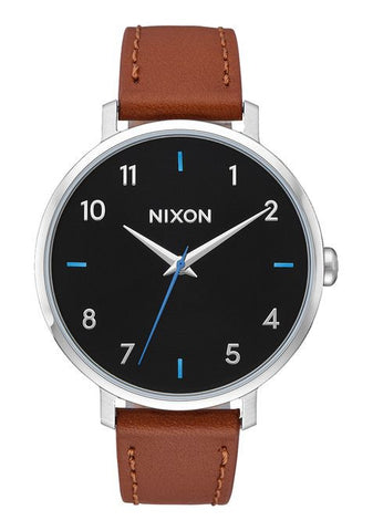 ARROW LEATHER BLACK/BROWN, 38MM
