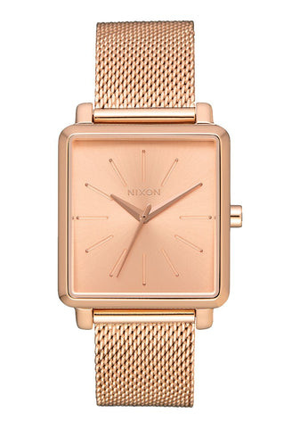 Nixon K Squared Milanese - All Rose Gold