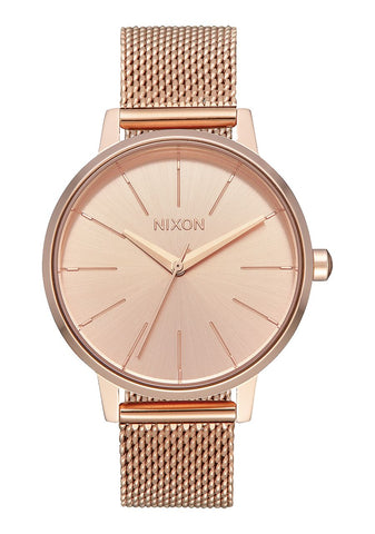 Nixon Kensington Milanese - All Rose Gold