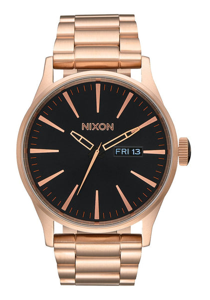 SENTRY SS ALL ROSE GOLD / BLACK WATCH