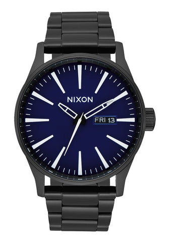 Nixon Sentry - All Black / Dark Blue