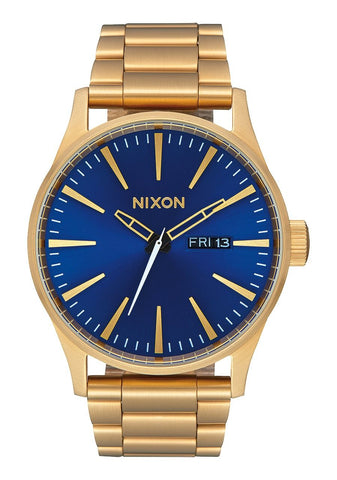 Nixon Sentry - All Gold / Blue Sunray