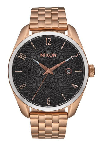 BULLET ROSE GOLD / BLACK SUNRAY WATCH, 38MM
