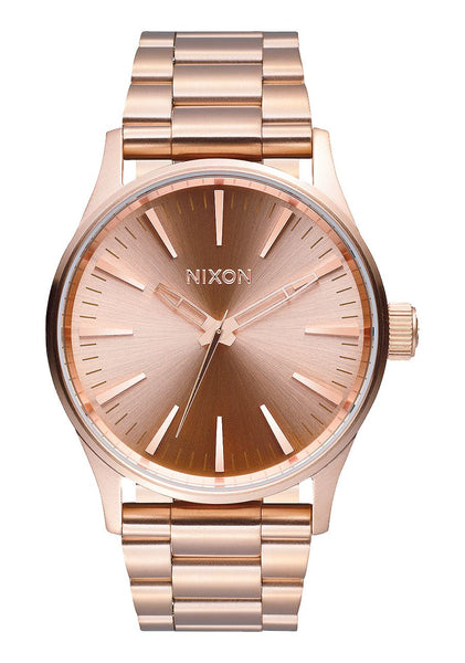 Nixon Sentry 38 SS - All Rose Gold, 38mm