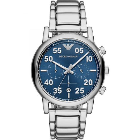 Emporio Armani Blue Dial Mens Watch - AR11132