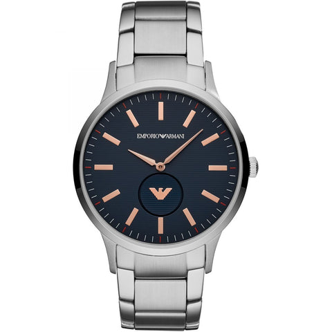 Emporio Armani Blue Dial Mens Watch - AR11137