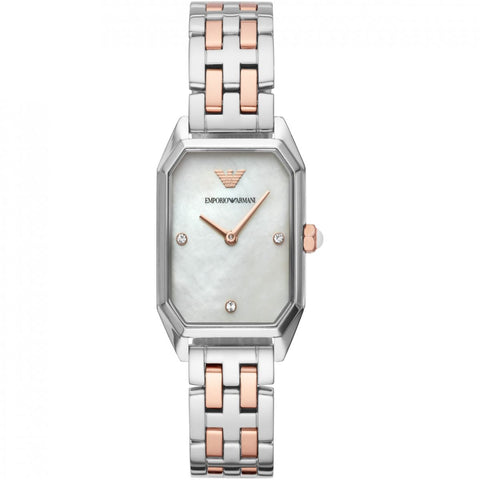 Emporio Armani Stainless Two-Tone Womens Watch - AR11146