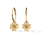 Meadowlark August Endless Hoop Earrings - Gold Plated