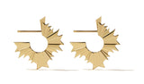 August Hoop Earring - Gold Plated