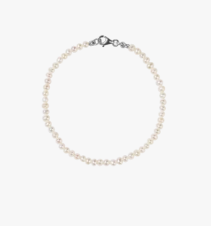 Meadowlark Micro Pearl Bracelet - Medium/Large