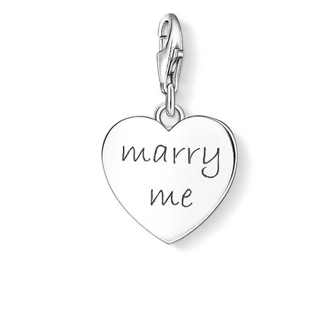 Thomas Sabo Charm Club Marry Me Charm - CC1064