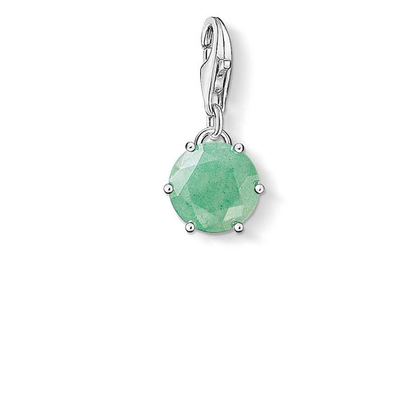 Thomas Sabo Charm Club May Adventurine Charm - CC1258