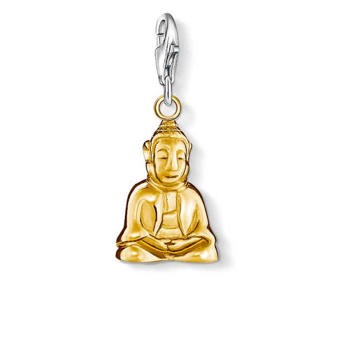 THOMAS SABO CHARM CLUB GOLD PLATE BUDDHA