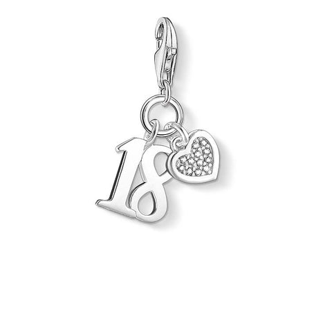 THOMAS SABO CHARM CLUB DIAMOND HAPPY 18