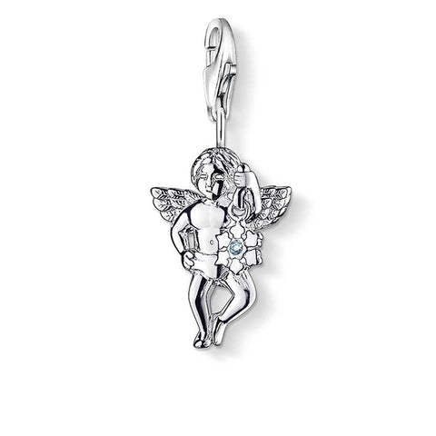 THOMAS SABO CHARM CLUB DIAMOND ANGEL CHARM