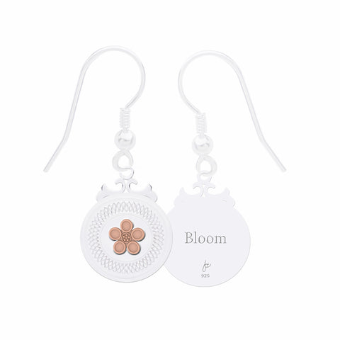 "Daisy Sterling Silver Declaration Earrings ""Bloom"""