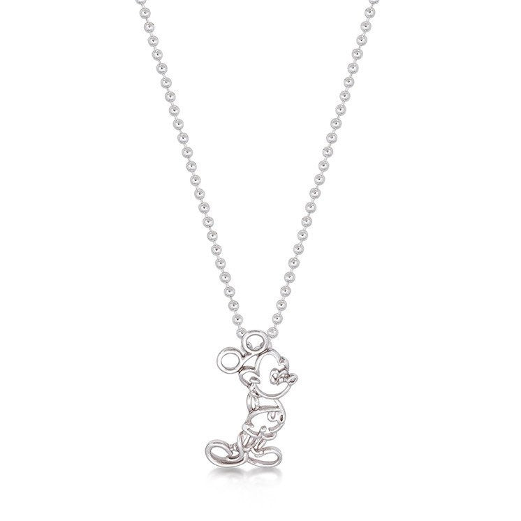 5ccf151010bb Junior Mickey Mouse Outline Necklace – Brent Weatherall Jeweller