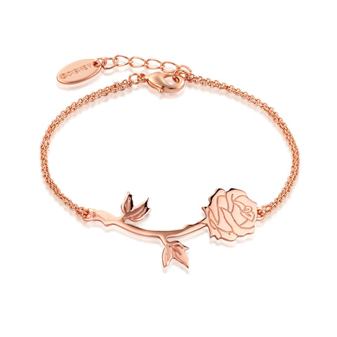 Disney Beauty and the Beast Rose Bracelet