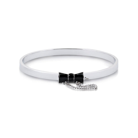 Couture Kingdom Minnie Mouse Black Bow Bangle DSB033