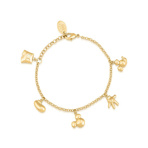 Disney Mickey Mouse Icon Charm Bracelet