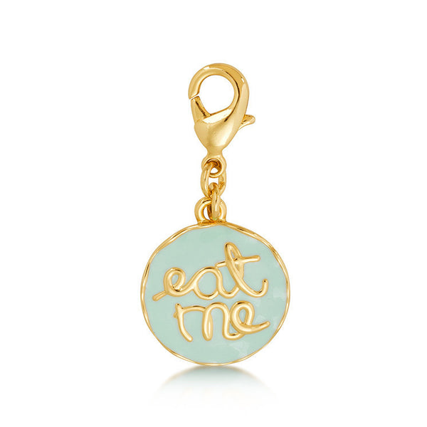 Alice In Wonderland Eat Me Charm