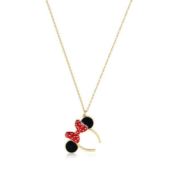 Couture Kingdom Minnie Mouse Ears Necklace DYN018