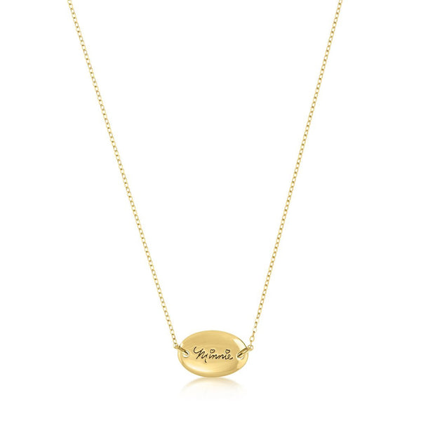 Couture Kingdom Minnie Mouse Signature Necklace DYN021
