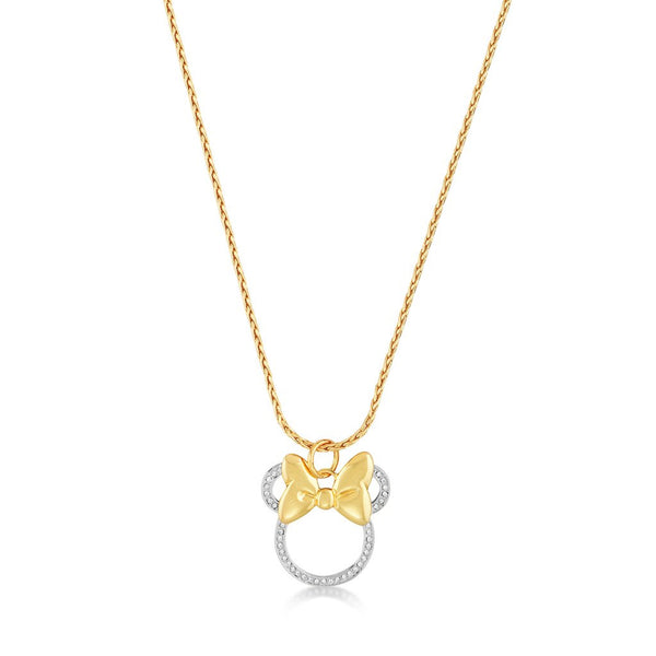 Disney Minnie Mouse Bow Necklace DYN023