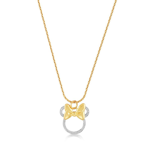 Couture Kingdom Minnie Mouse Bow Necklace DYN023