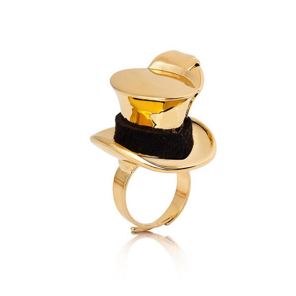 Alice In Wonderland Mad Hatter Ring