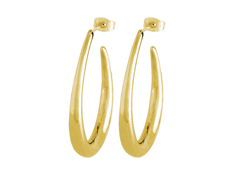 Dryberg/Kern - Faye Shiny Gold Earrings