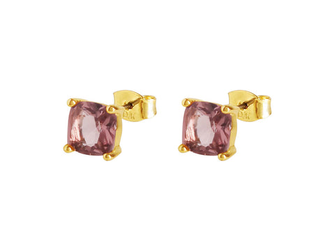 Dyrberg/Kern - Mitzi SG Aubergine Earrings