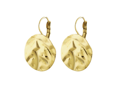Dyrberg/Kern - Zaela Shiny Gold Earrings