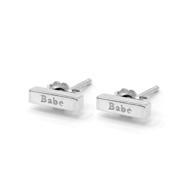 'Babe' Sweet Nothing Studs