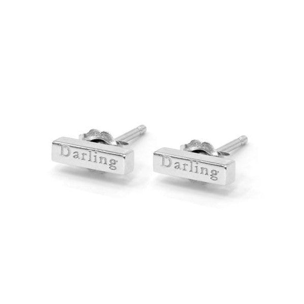 'Darling' Sweet Nothing Studs