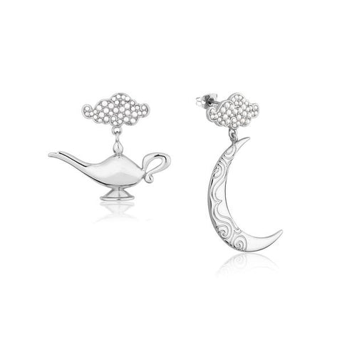 Disney Aladdin Genie Lamp in the Night Earrings