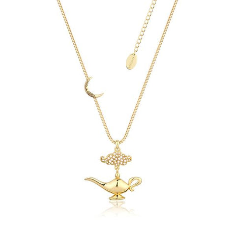 Disney Aladdin Genie Lamp in the Night Necklace