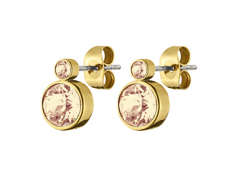DYRBERG/KERN LONDON SG GOLDEN SHADOW EARRING