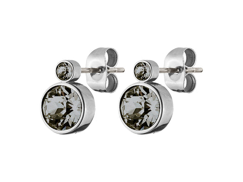 DYRBERG/KERN LONDON SS GREY EARRING