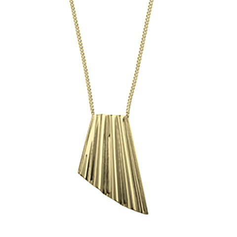 Dyrberg/Kern Chalina Shiny Gold Necklace