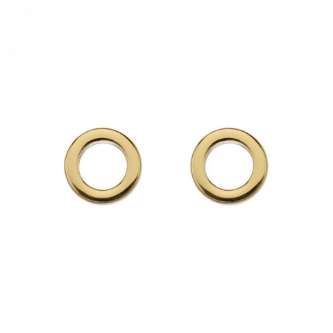 Dot Stud Earring (Yellow)