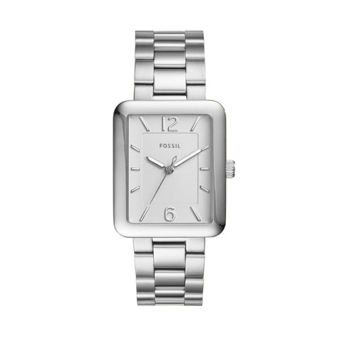 Fossil Ladies Atwater Silver Watch ES4157