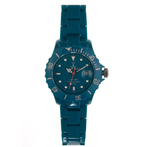 TOYWATCH - TEAL RESIN FLUO