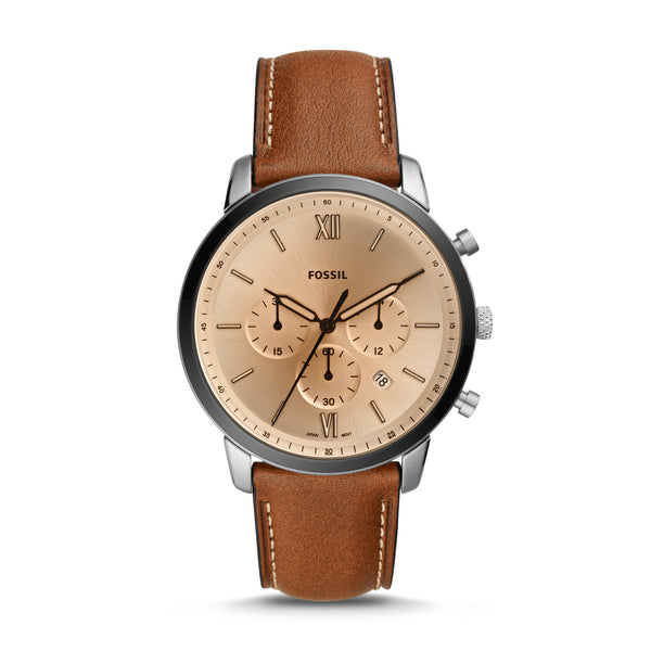 Fossil - Neutra Chronograph Brown Leather Watch