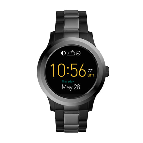 Fossil Gen 2 Smartwatch - Q Founder 2-Tone Stainless Steel FTW2117
